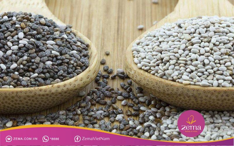 Hạt chia là một trong những loại hạt có nhiều dinh dưỡng tốt cho cơ thể