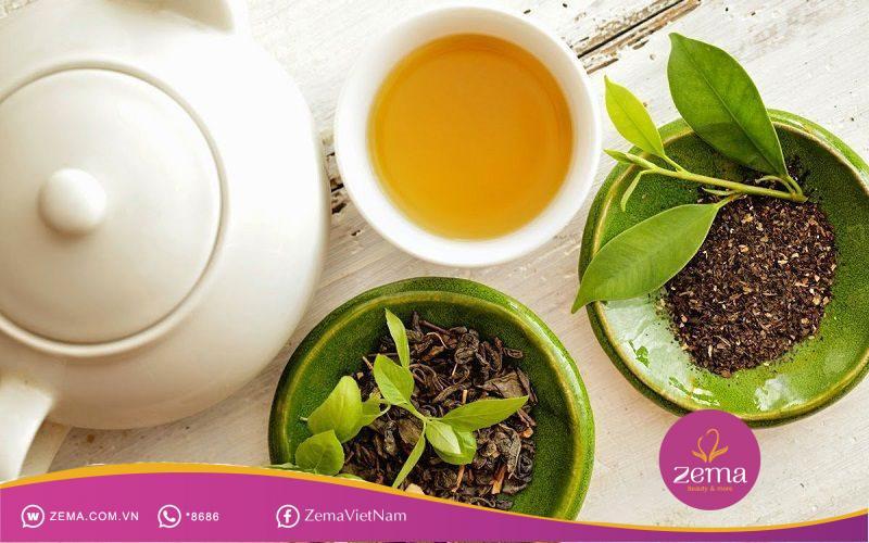 Hạt chia và trà xanh cũng vô cùng tốt cho cơ thể