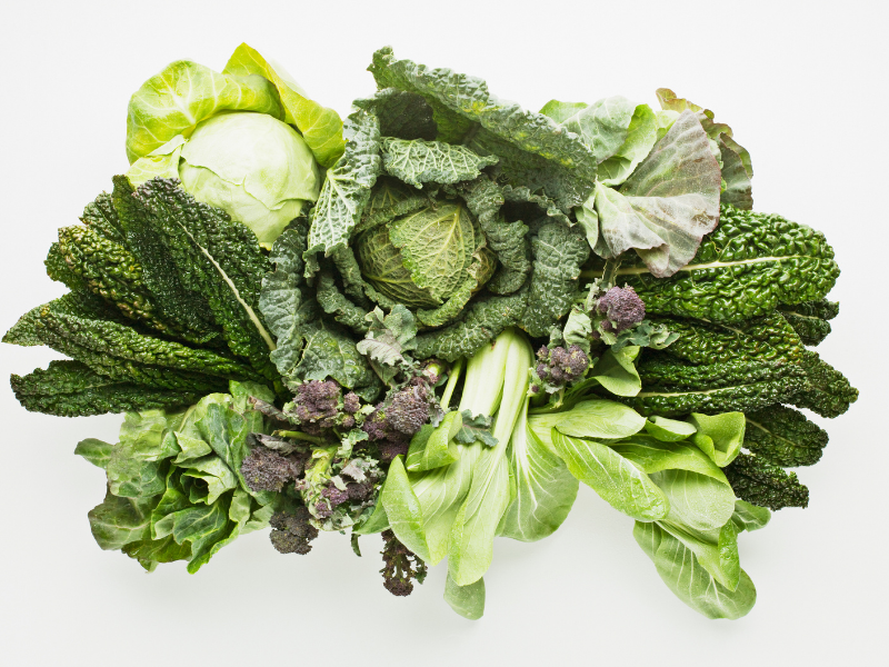 Rau xanh tốt cho sức khỏe và quá trình giảm cân