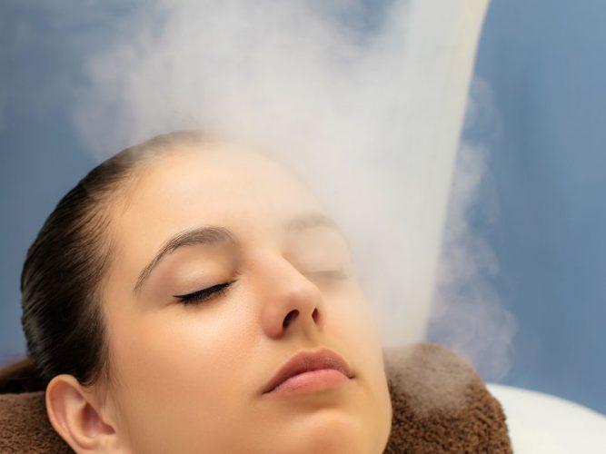 Xông mặt giúp cung cấp ẩm cho da