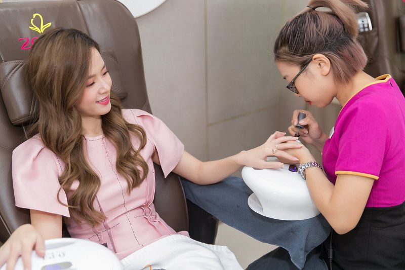 Dịch vụ làm nail tại Zema được các ngôi sao Việt đánh giá rất cao