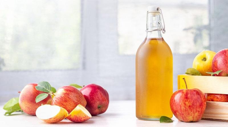 Giấm táo trị da giãn mao mạch hiệu quả