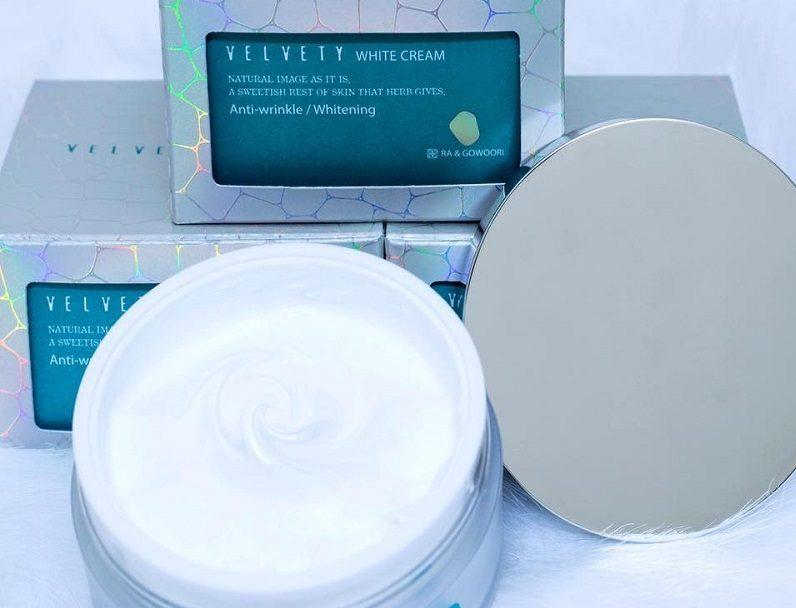 Kem Ra&Gowoori dưỡng trắng làm mềm mịn da rất hiệu quả