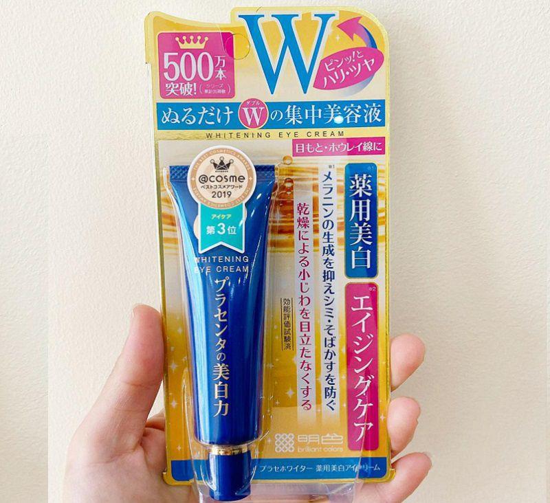 Whitening Eye Cream được nhiều bạn trẻ tin dùng