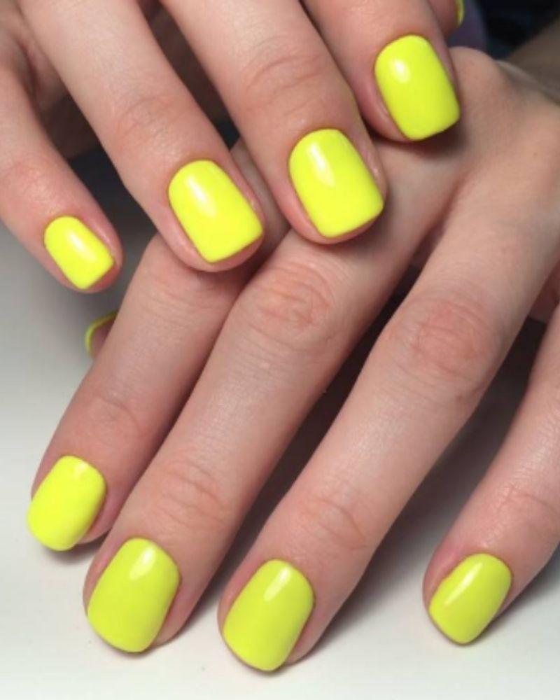 Kiểu móng tay neon vui nhộn