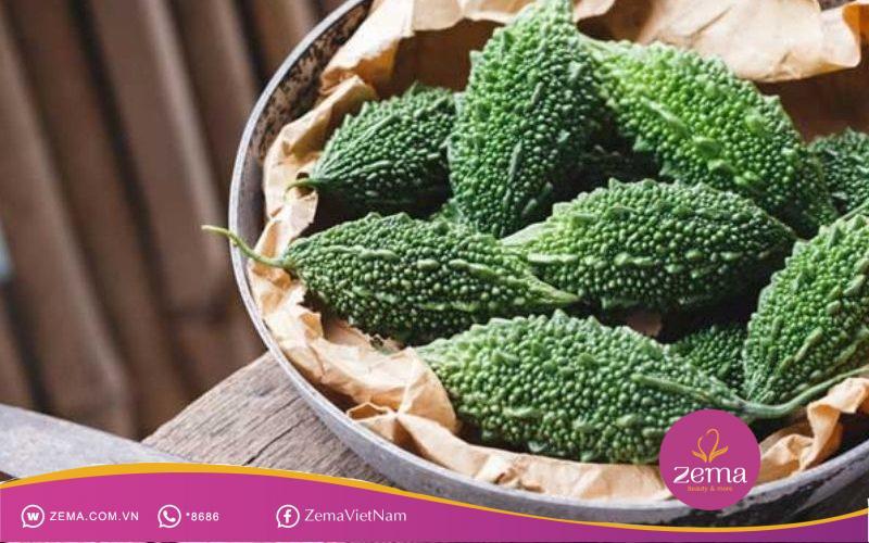 Mướp đắng giàu vitamin C và khoáng chất chống lão hóa và tốt cho hệ miễn dịch