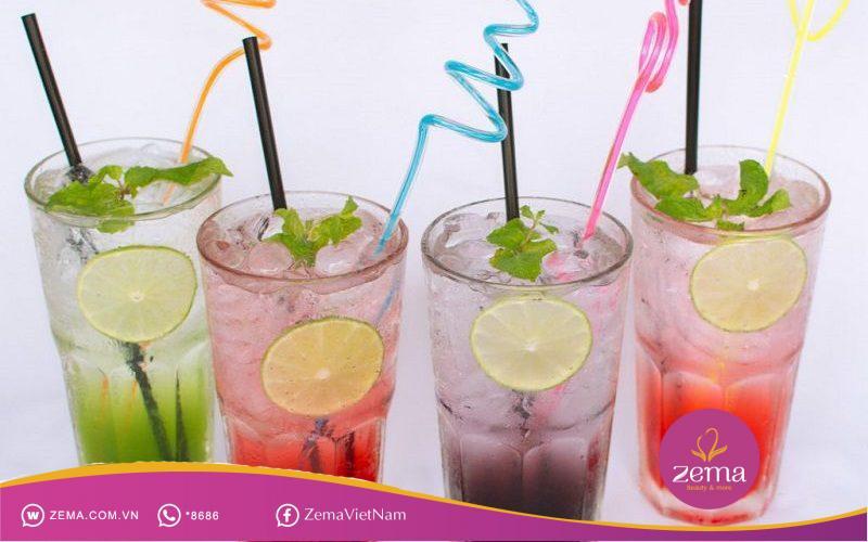 Những cốc soda đầy màu sắc không hề tốt cho kế hoạch giảm cân của bạn