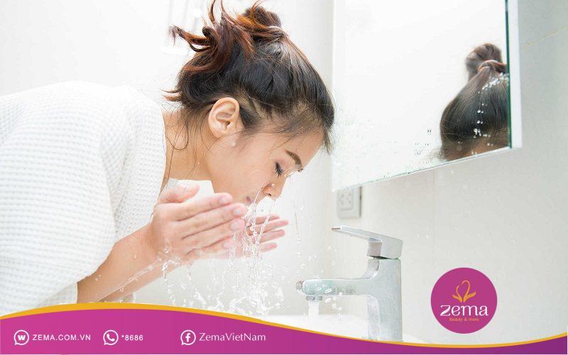 Các bước chăm sóc da mặt cần thực hiện đúng trình tự
