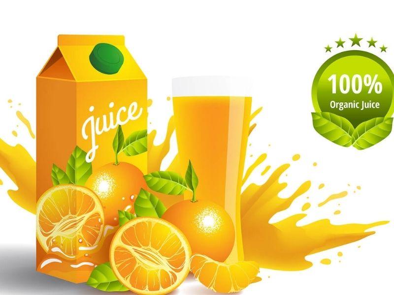 Nước cam tại cửa hàng chứa nhiều calo hơn