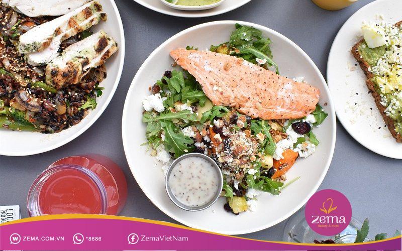 Bí quyết giảm cân khoa học là nạp nhiều thực phẩm chứa protein