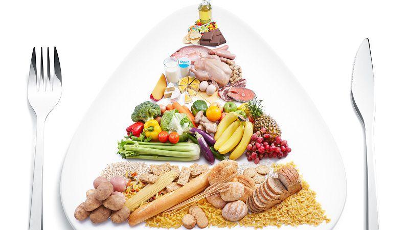 Tháp dinh dưỡng khuyên được áp dụng dành cho người ăn kiêng