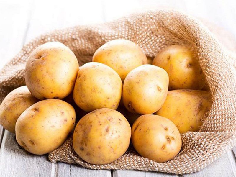 Khoai tây giúp da sáng mịn hơn