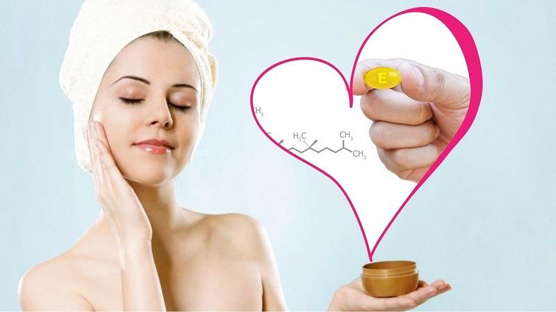 Chị em sẽ thấy làn da của mình thay đổi đến bất ngờ khi dùng vitamin E