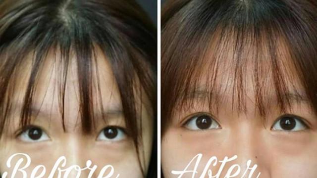 Cách giữ tóc mái không bị bết.