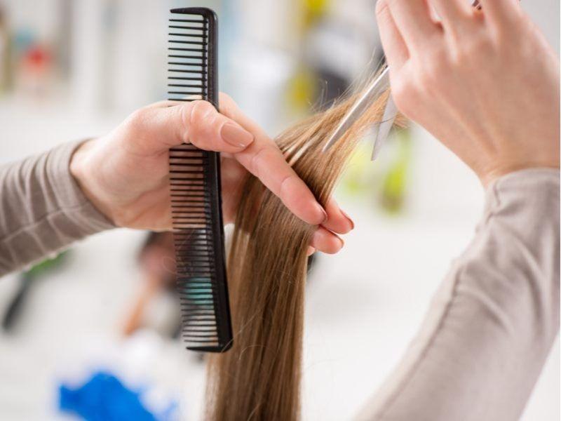 Cắt tỉa tóc định kỳ 4 - 6 tuần/lần