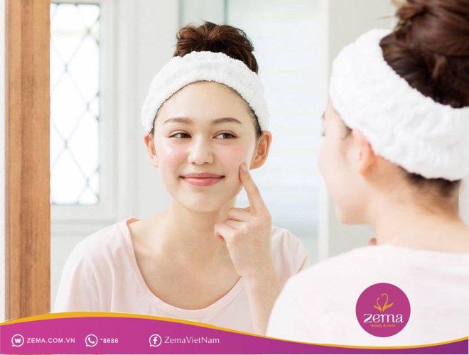 Cách chăm sóc da mặt bị mụn tại nhà