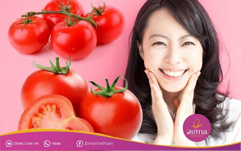 Chống oxy hóa với nước ép cà chua và chanh.