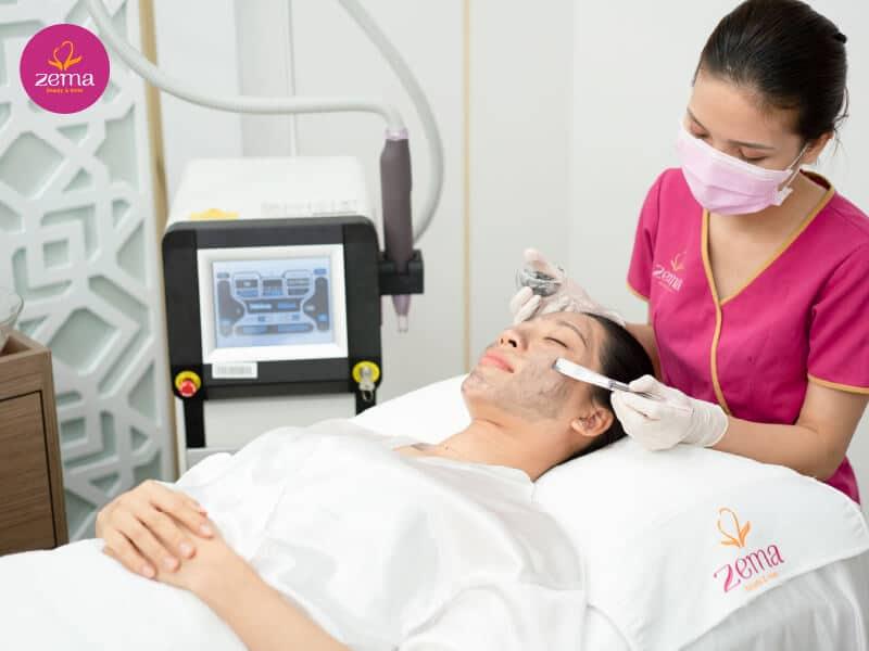 Quy trình điều trị nám da bằng công nghệ Laser tại Zema Việt Nam