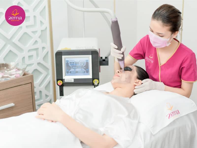 Công nghệ điều trị da nám bằng laser E-Light