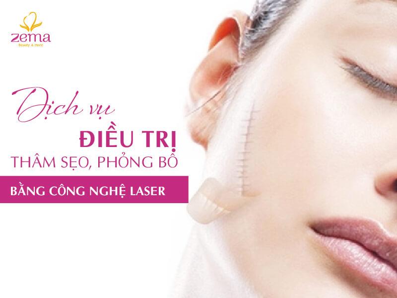 Dịch vụ điều trị thâm sẹo phỏng bô tại Zema Việt Nam