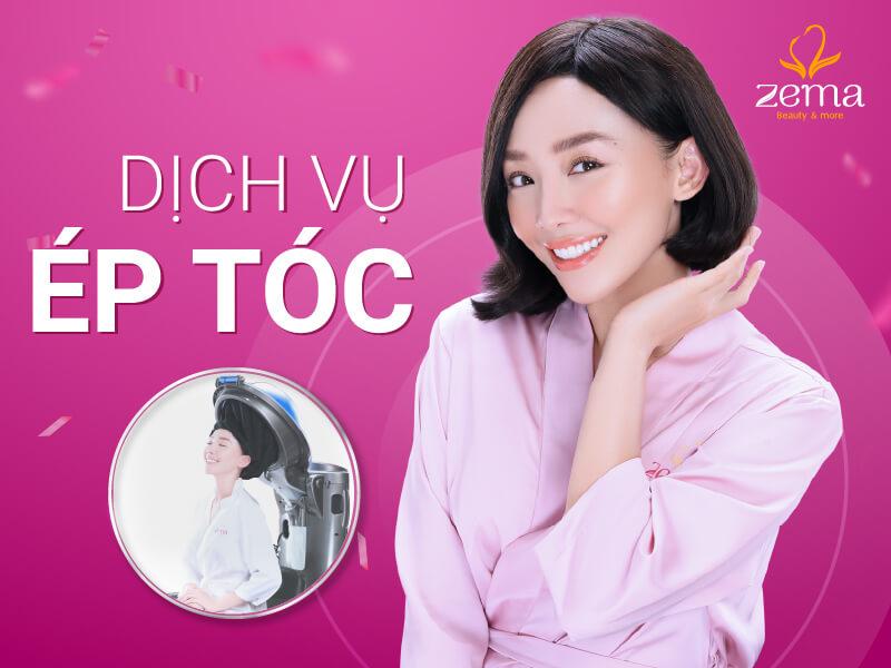 Dịch vụ ép tóc tại Zema Việt Nam