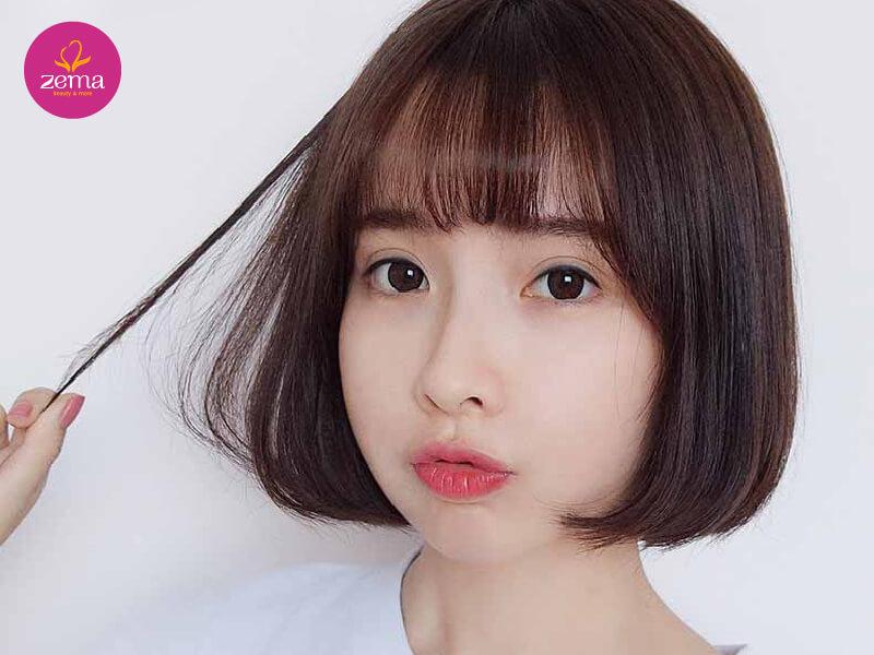 Chị Hải Hà (Hà Nội) - trãi nghiệm dịch vụ làm tóc ép tại Zema Việt Nam