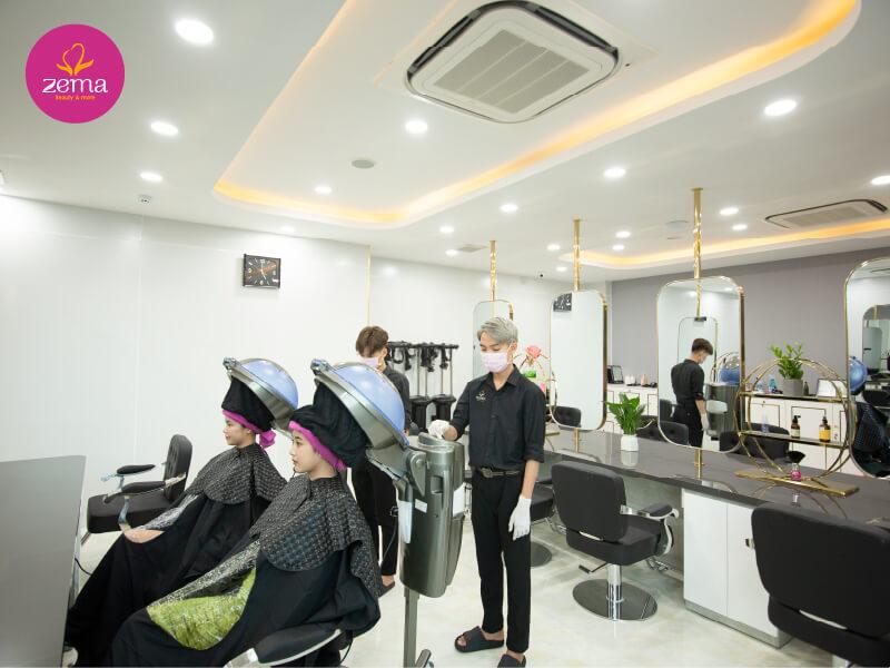 Quy trình ép tóc tại Zema Việt Nam