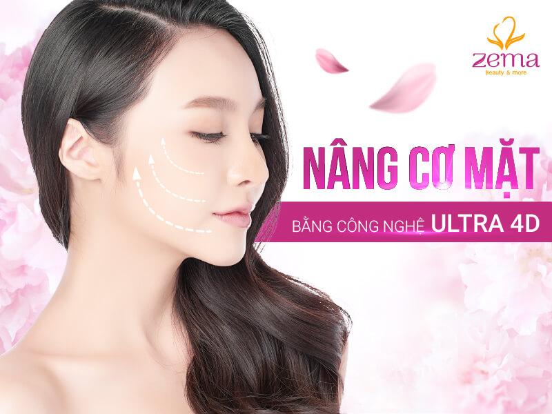 Công nghệ nâng cơ mặt Ultra 4D an toàn Việt Nam