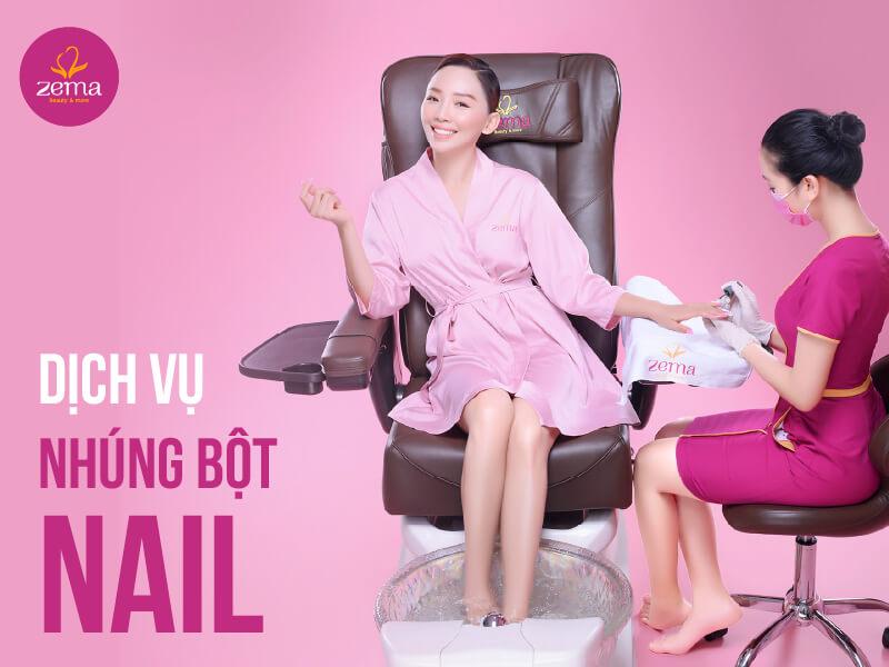 Dịch vụ nhúng bột nail tại Zema Việt Nam