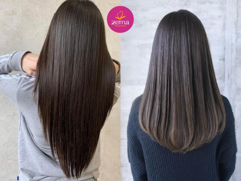 Nếu chăm sóc tóc đúng cách, bổ sung keratin hiệu quả này có thể kéo dài tới nửa năm.