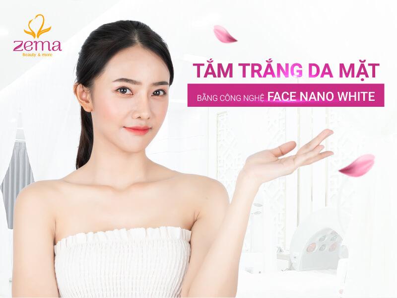 Dịch vụ tắm trắng da mặt tại Zema Việt Nam