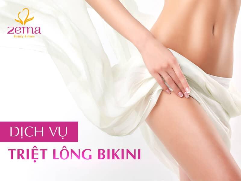 Dịch vụ triệt lông bikini bằng công nghệ E-Light tại Zema Việt Nam