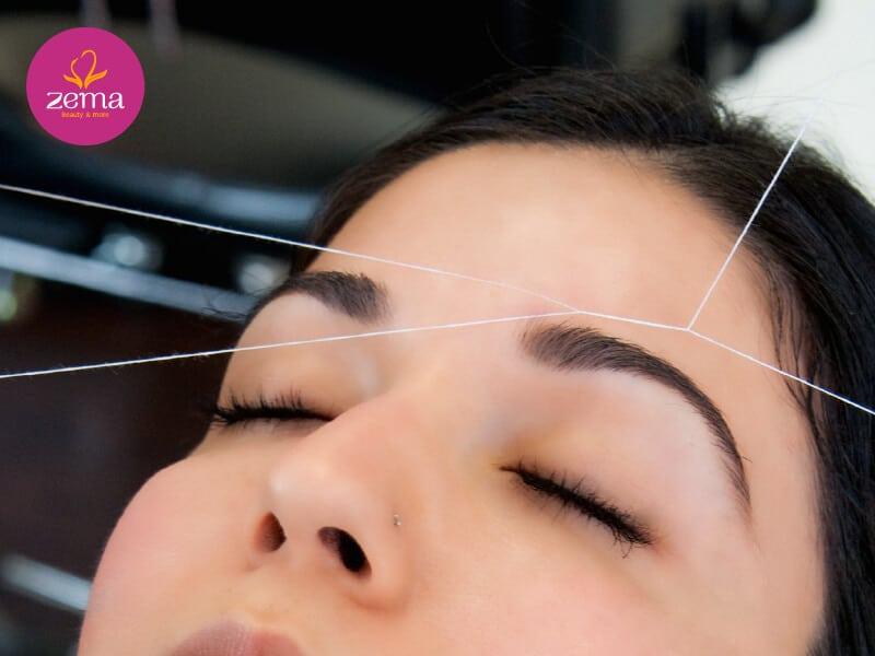 Triệt lông mặt giúp hấp thụ dưỡng chất và trang điểm đẹp hơn