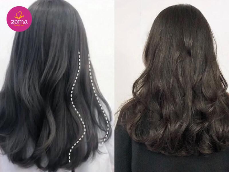 Những kiểu tóc uốn đẹp