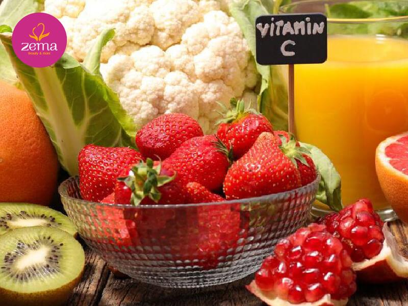 Nguồn Vitamin C tự nhiên có nhiều trong các loại trái cây