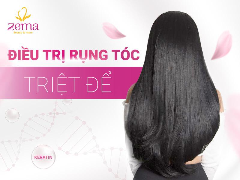 Dịch vụ điều trị rụng tóc triệt để tại Zema Việt Nam