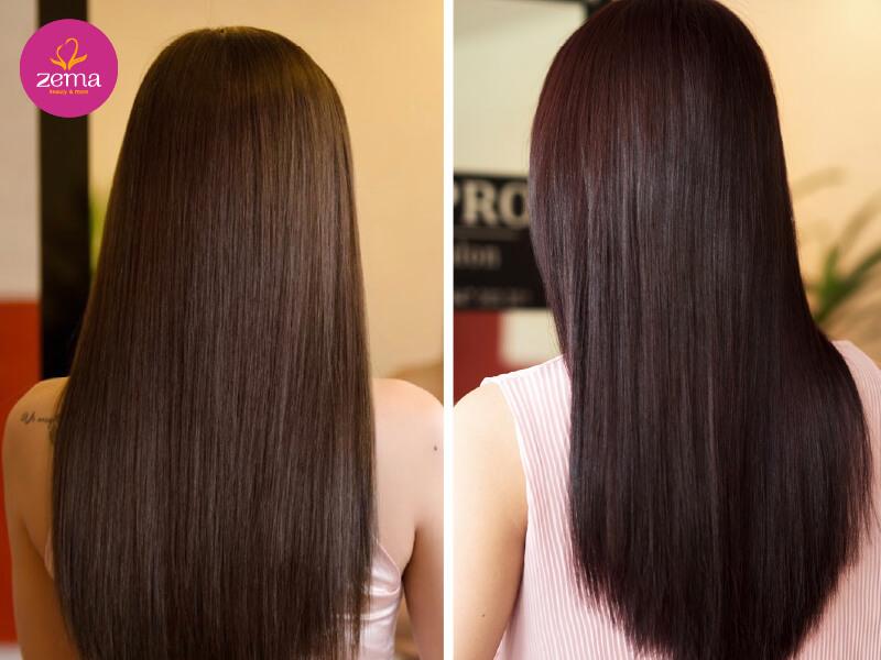 Những ưu điểm khi duỗi tóc tại nhà