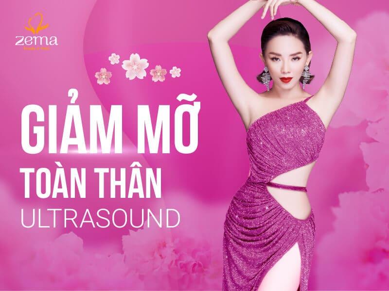 Công nghệ giảm mỡ toàn thân Ultrasound tại Zema Việt Nam