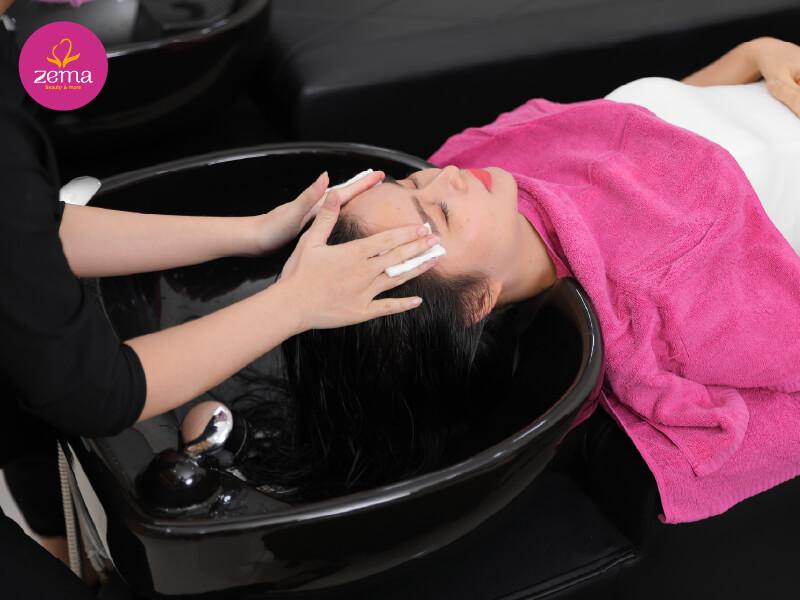 Lợi ích của việc gội đầu massage