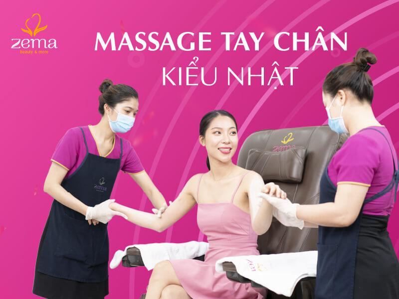 Dịch vụ massage tay chân kiểu Nhật