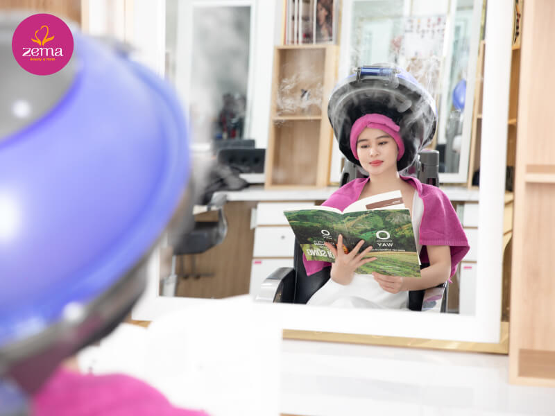 Quy trình chuẩn dịch vụ phục hồi tóc nữ