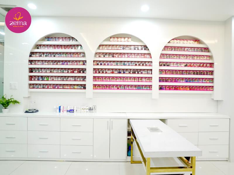Đa dạng màu nail giúp bạn dễ dàng lựa chọn với chất lượng nhập khẩu tại Zema Việt Nam