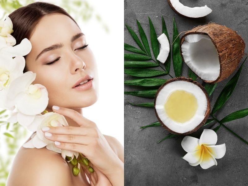 Dầu dừa khi sử dụng cho da mặt nên kết hợp với thao tác massage