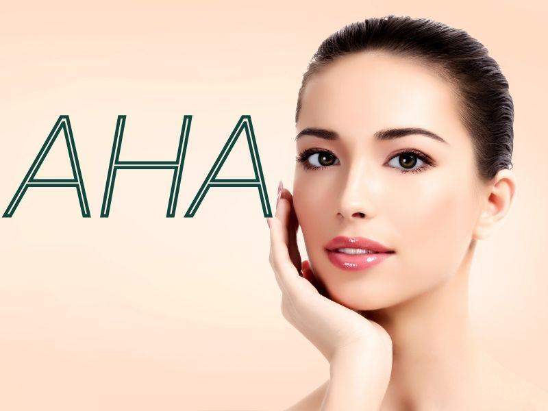 Sử dụng AHA với vẻ đẹp làn da cực kỳ tuyệt vời