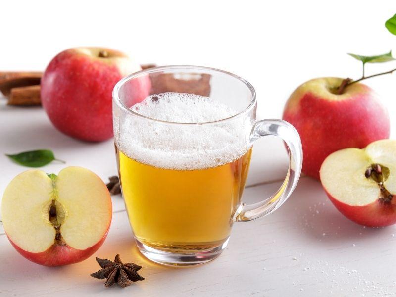 Giấm táo dùng uống trực tiếp thường không tốt cho dạ dày