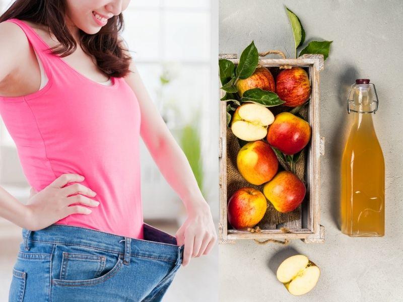 Cân nặng sẽ giảm xuống nếu dùng giấm táo đúng phương pháp
