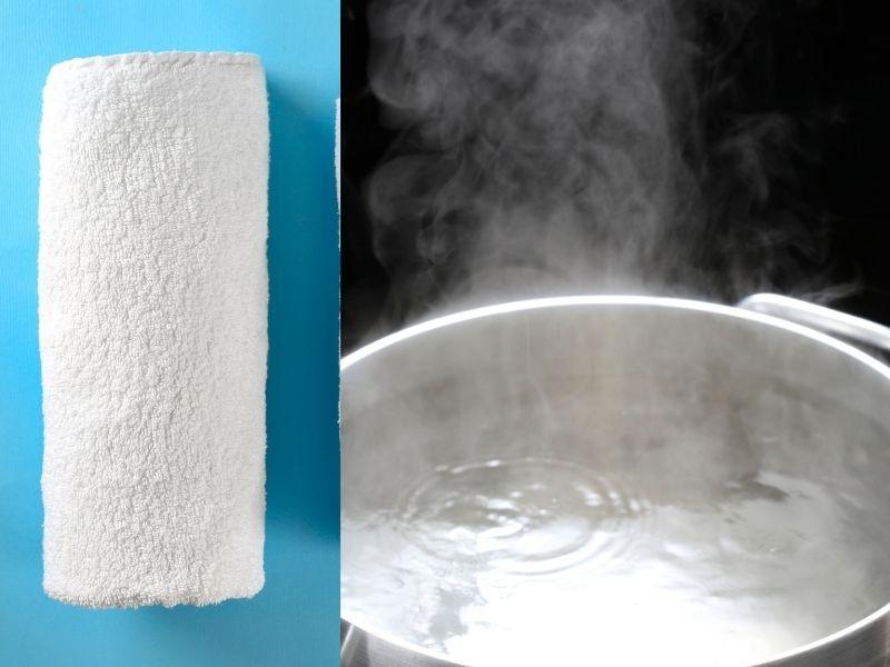 Cách chườm ấm sẽ giúp da loại bỏ tạp chất