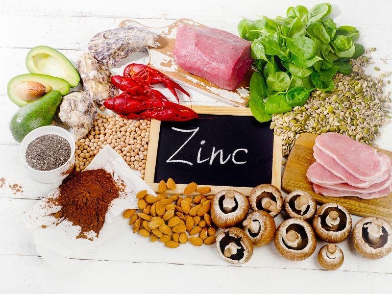 Kẽm có nhiều trong thực phẩm nên rất dễ bổ sung cho cơ thể