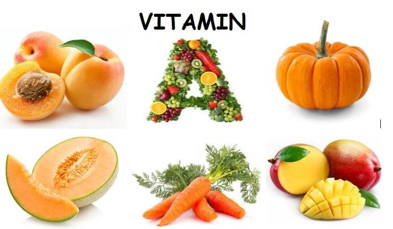 Bổ sung thực phẩm giàu vitamin A tốt cho mụn