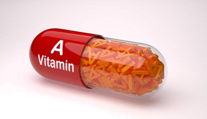 Dùng viên uống vitamin a trị mụn